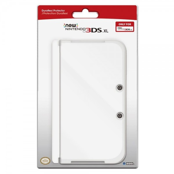 COVERPLATE DURAFLEXI TRANSPARENT NEW 3DS XL NEW