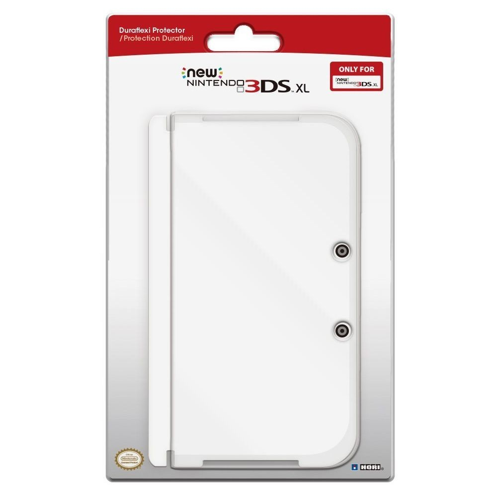 COVERPLATE DURAFLEXI TRANSPARENT NEW 3DS XL