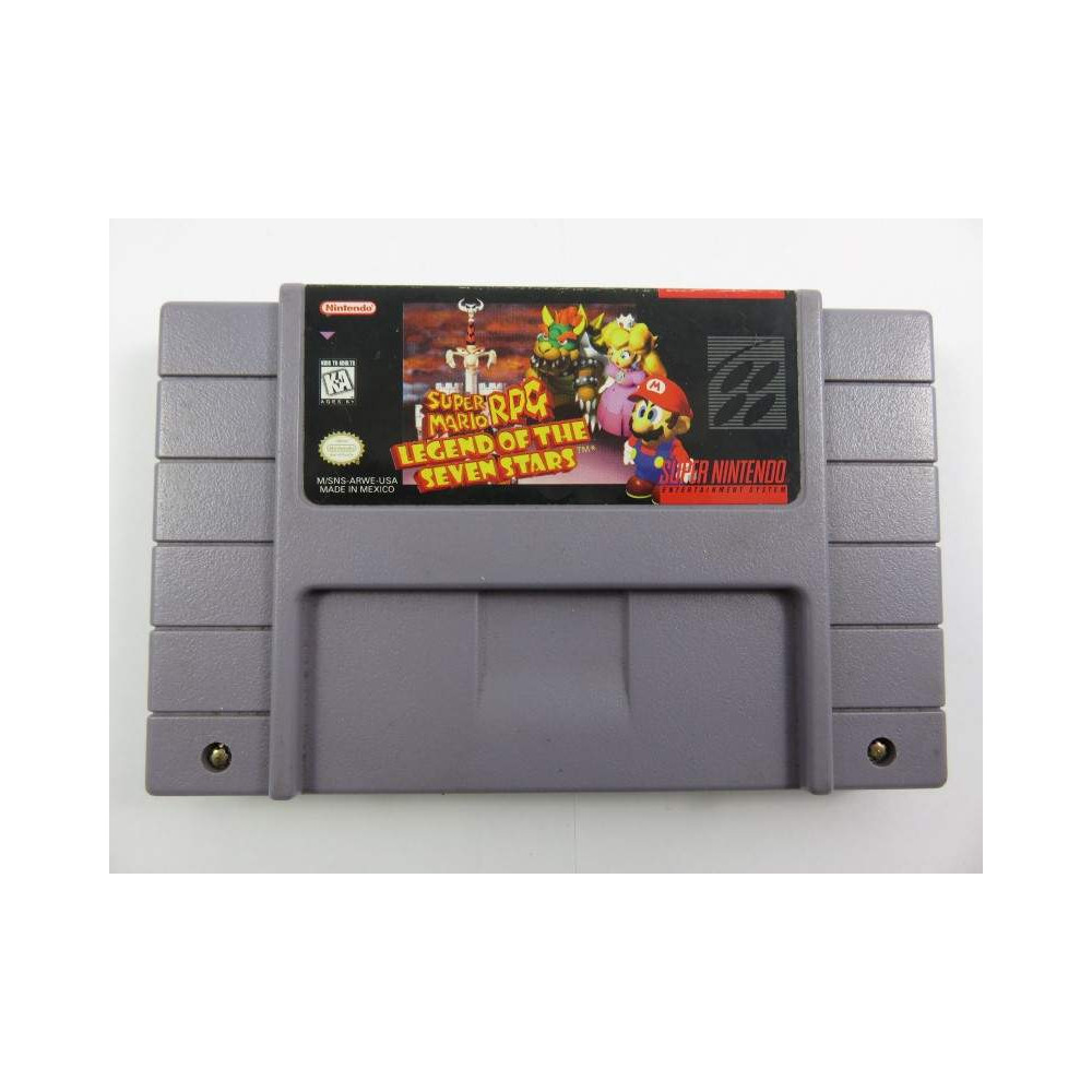 SUPER MARIO RPG LEGEND OF THE SEVEN STARS SNES NTSC-USA LOOSE