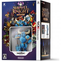 SHOVEL KNIGHT AMIIBO SET 3DS JAP NEW