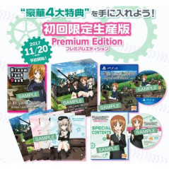 Preorder GIRLS & PANZER: DREAM TANK MATCH [PREMIUM EDITION] PS4 JPN NEW