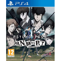 PSYCHO-PASS MANDATORY HAPPINESS PS4 FR OCCASION