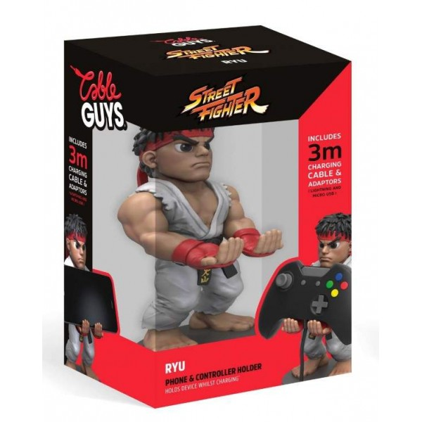 STREET FIGHTER PHONE AND CONTROLLER HOLDER RYU EURO NEW