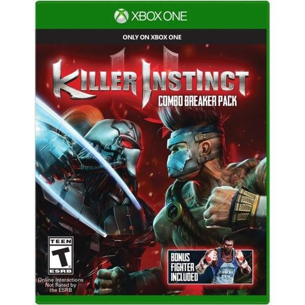 KILLER INSTINCT COMBO BREAKER PACK XBOX ONE US OCCASION