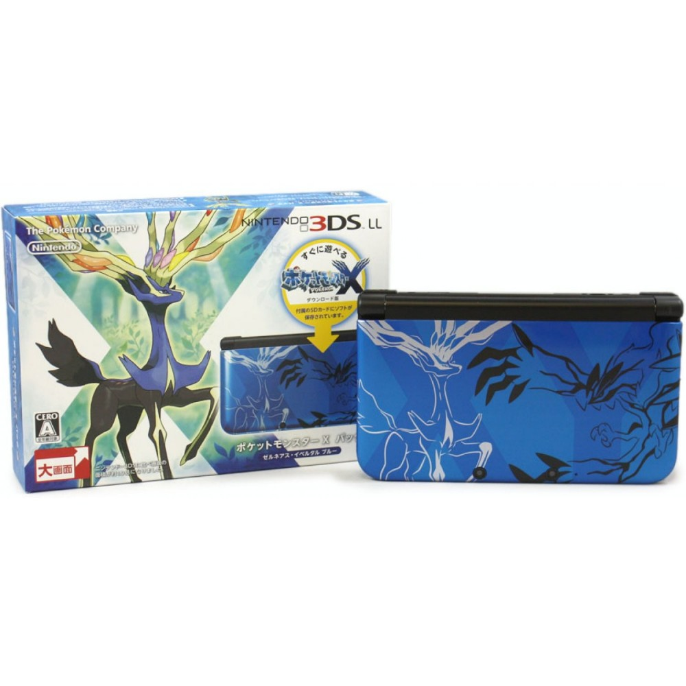 CONSOLE 3DS XL POKEMON XY BLEUE JAP OCC
