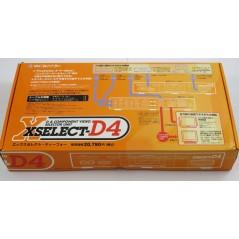 Détails sur D & COMPONENT VIDEO Selector Unit XSELECT-D4 Micomsoft, PS2, GC, Xbox VGA XRGB