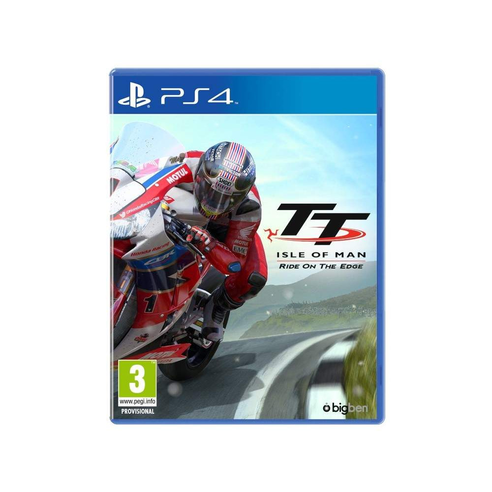TT ISLE OF MAN RIDE ON THE EDGE PS4 UK OCCASION
