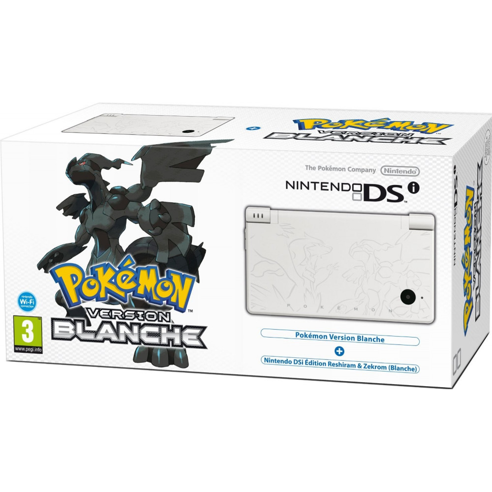 CONSOLE NINTENDO DSI POKEMON VERSION BLANCHE FRA NEW