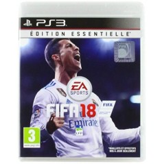 FIFA 18 EDITION ESSENTIELLE PS3 FR OCCASION