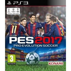 PRO EVOLUTION SOCCER 2017 PS3 FR OCCASION