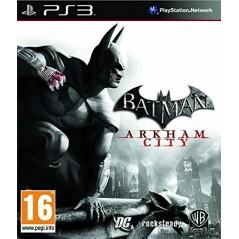 BATMAN ARKHAM CITY PS3 FR NEW