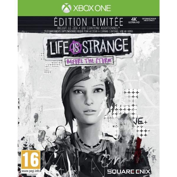 LIFE IS STRANGE BEFORE THE STORM LIMITED EDITION XBOX ONE UK NEW