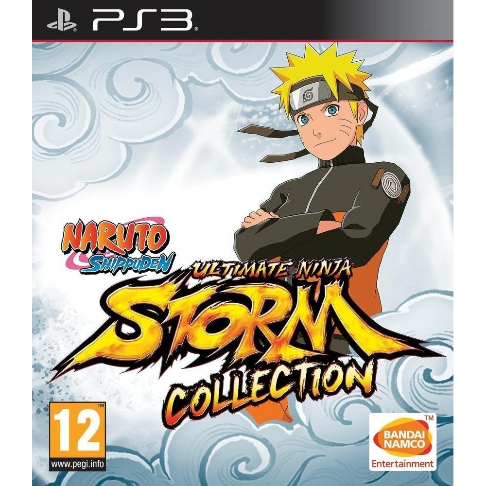NARUTO SHIPPUDEN ULTIMATE NINJA STORM COLLECTION PS3 FR NEW