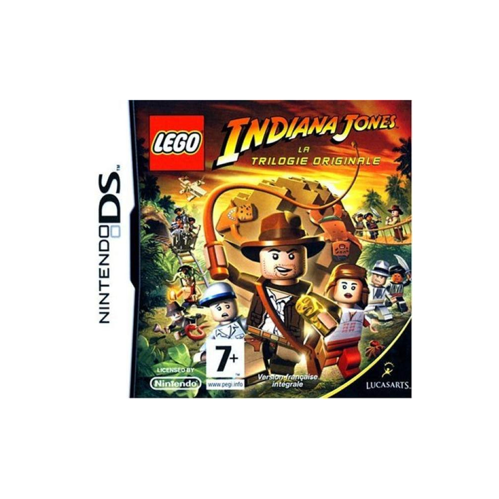 LEGO INDIANA JONES NDS FR OCCASION