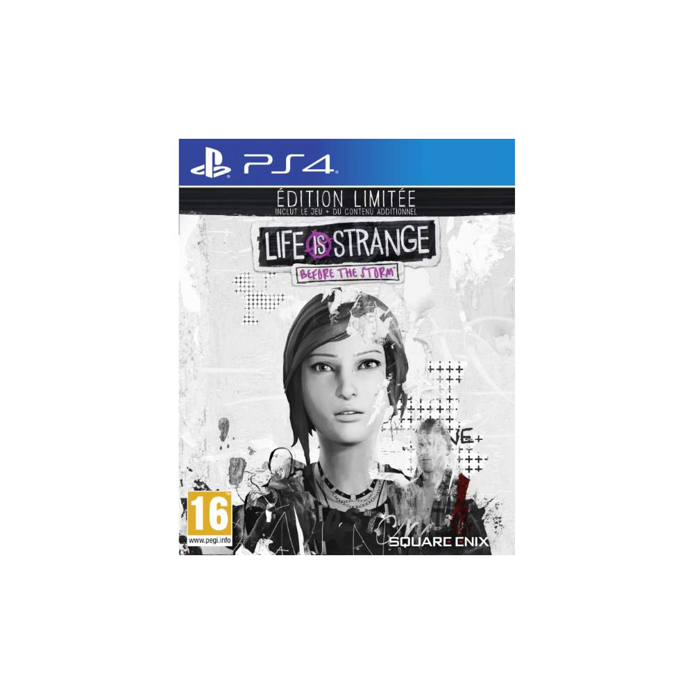 LIFE IS STRANGE BEFORE THE STORM EDITION LIMITEE PS4 FR NEW