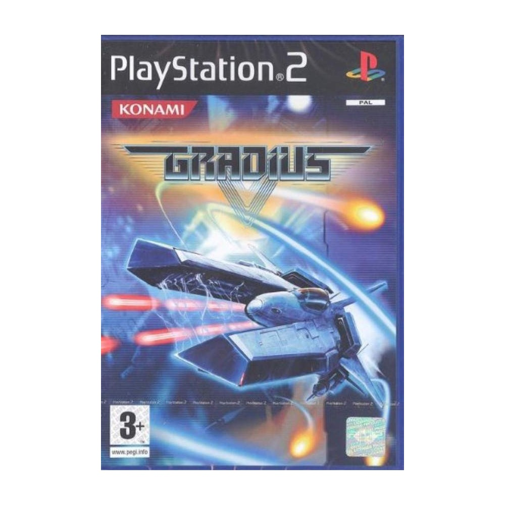 GRADIUS V PS2 PAL-EURO NEW