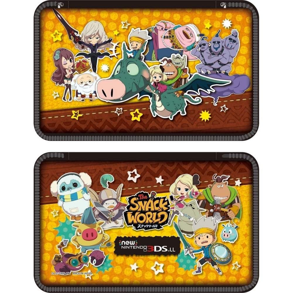 POUCH SNAKE WORLD NEW 3DS LL JAP NEW