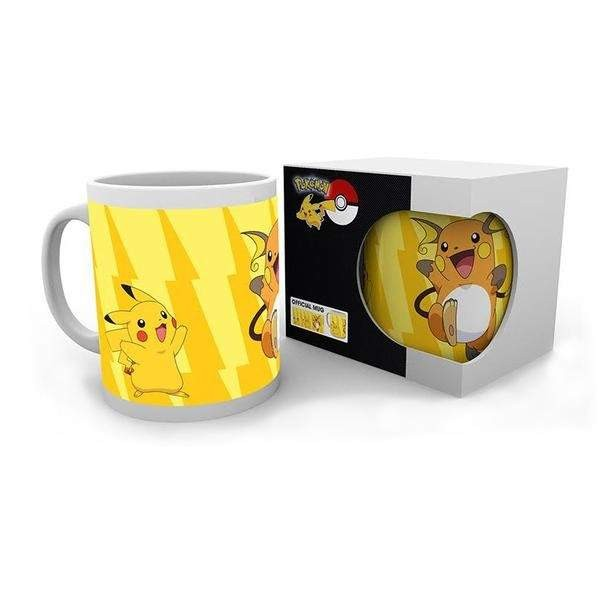POKEMON MUG PIKACHU EVOLUTION