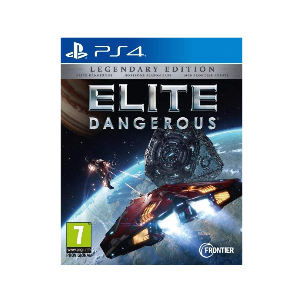 ELITE DANGEROUS LEGENDARY EDITON PS4 EURO FR NEW