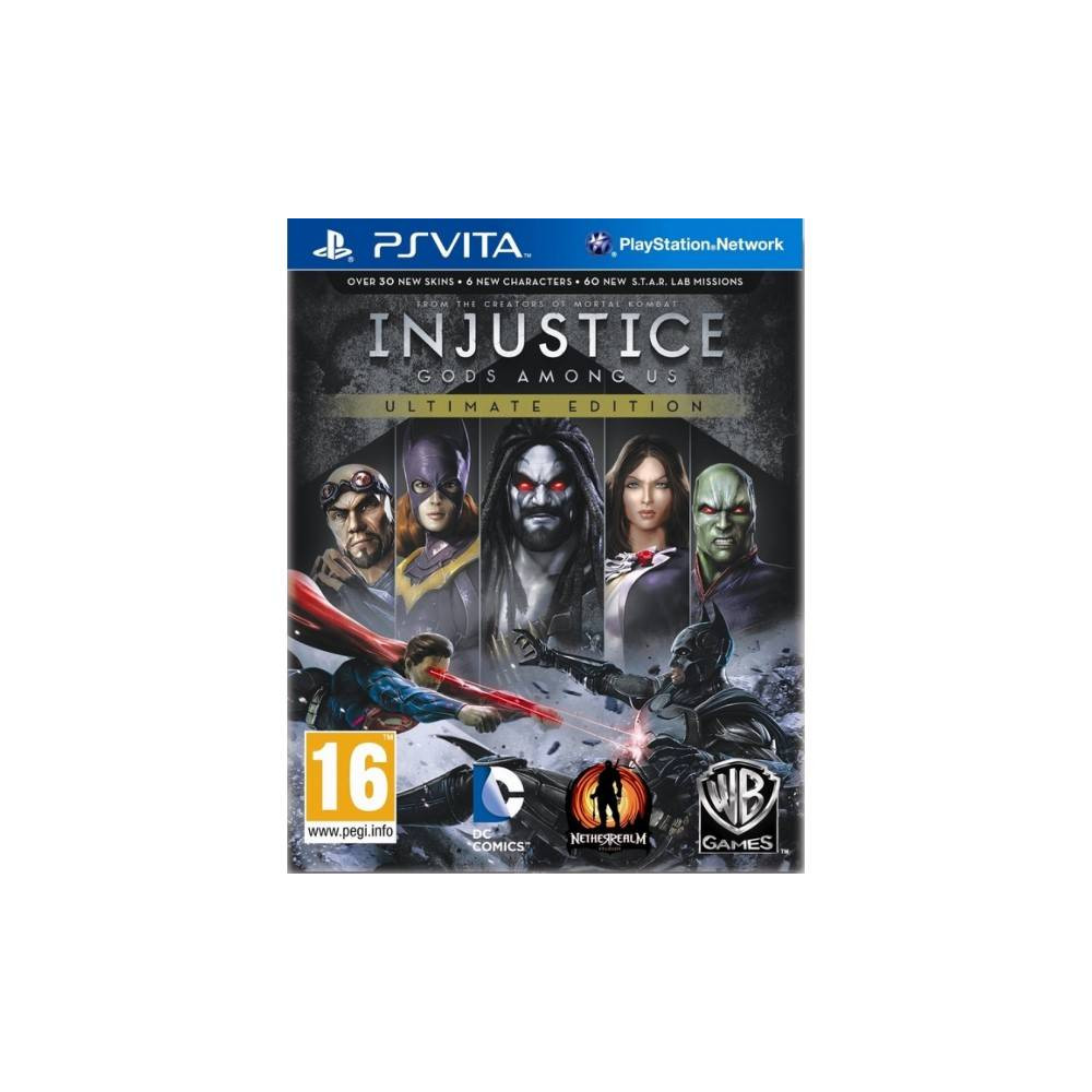 INJUSTICE GODS AMONG US ULTIMATE EDITION PSVITA UK NEW