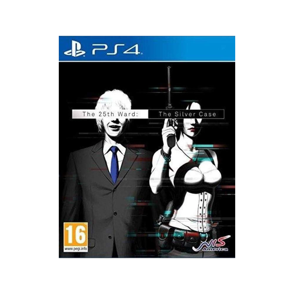 THE 25TH WARD THE SILVER CASE PS4 UK NEW