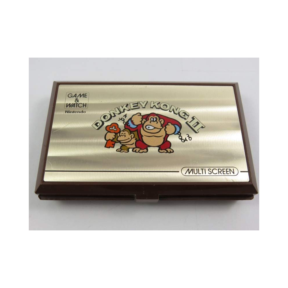 GAME & WATCH MULTI SCREEN DONKEY KONG II JR-55 EUR OCCASION