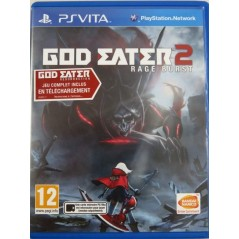 GOD EATER 2 RAGE BURST PSVITA UK OCCASION
