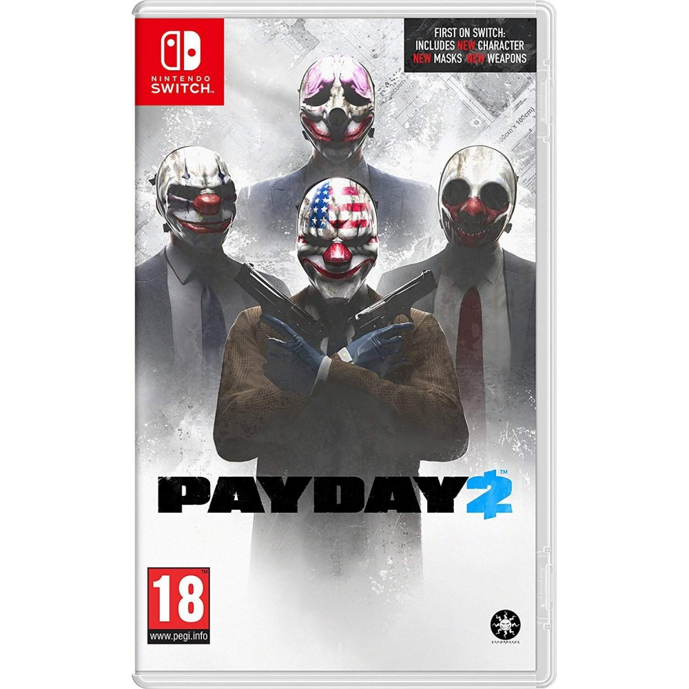 PAYDAY 2 SWITCH FR OCCASION