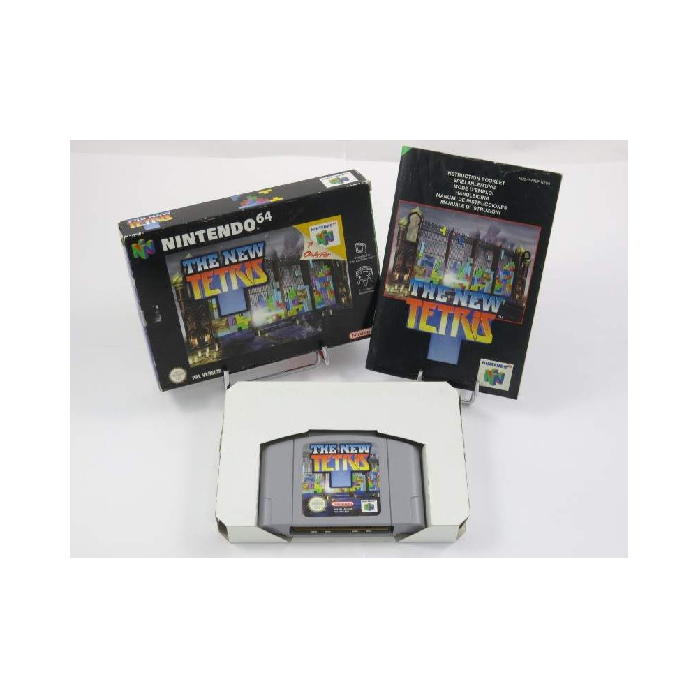 THE NEW TETRIS N64 PAL-NEU6 OCCASION