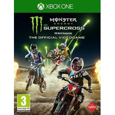 MONSTER ENERGY SUPERCROSS XBOX ONE FR OCCASION
