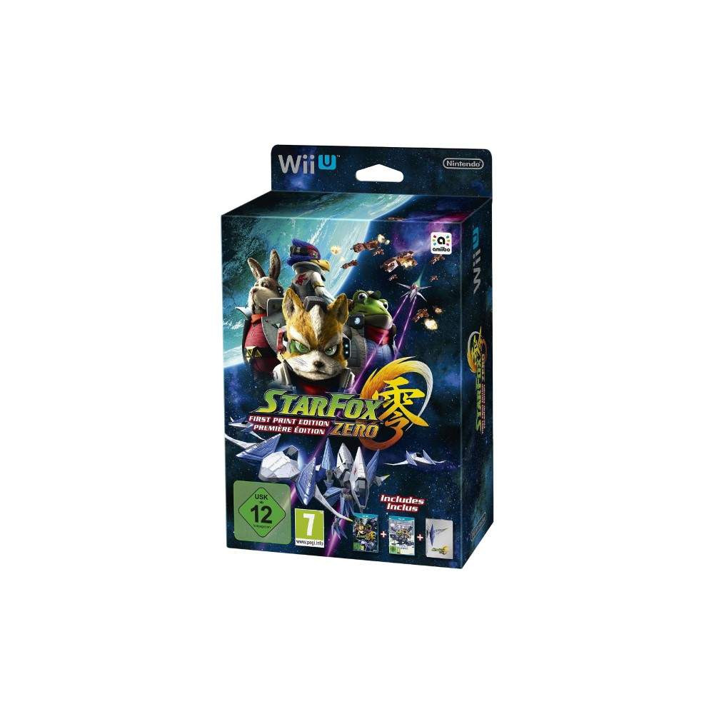 STAR FOX ZERO LIMITED WIIU PAL-FR OCCASION