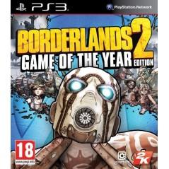 BORDERLANDS 2 EDITION JEU DE L ANNEE PS3 FR OCCASION