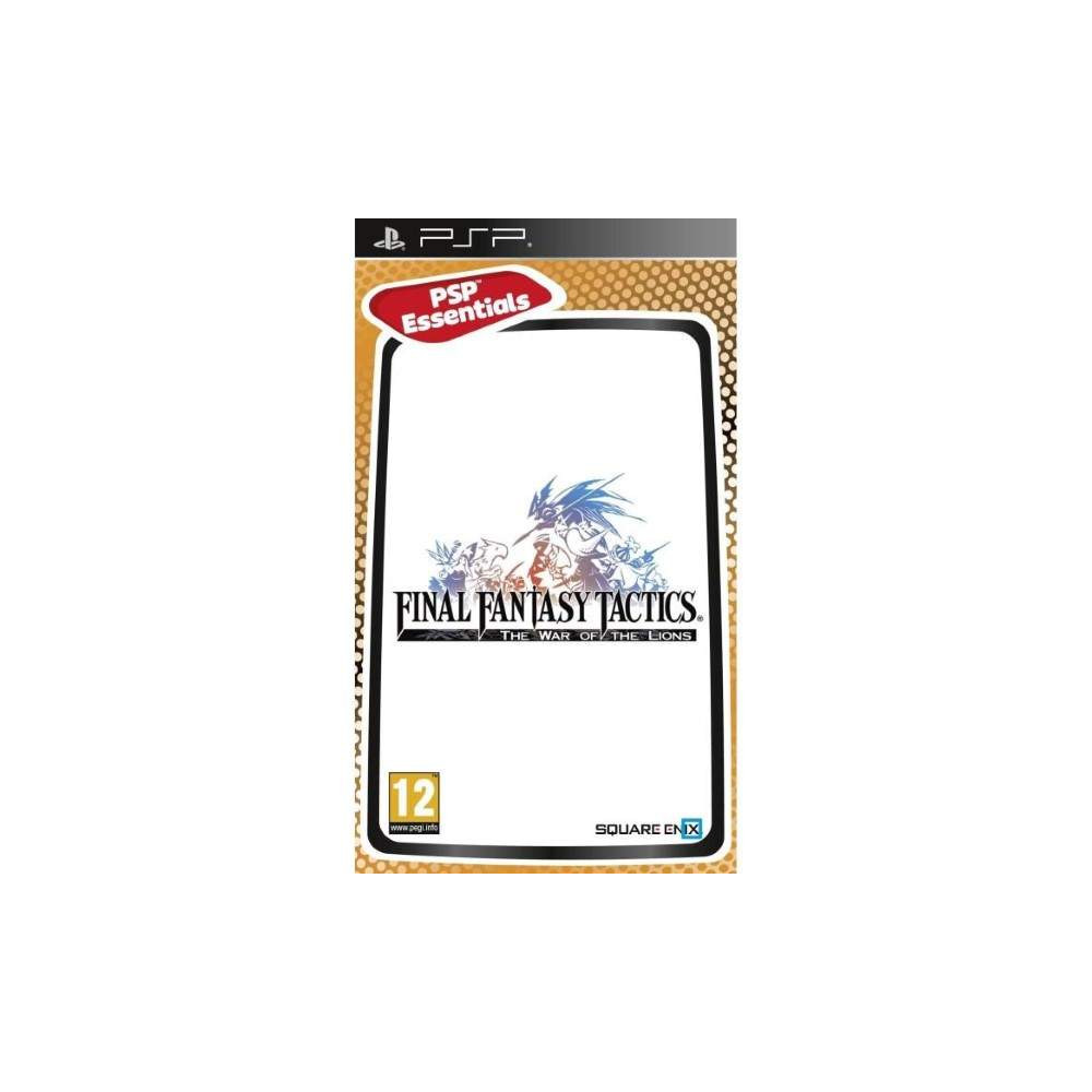 FINAL FANTASY TACTICS THE WAR OF THE LIONS PSP ESSENTIALS FR OCCASION