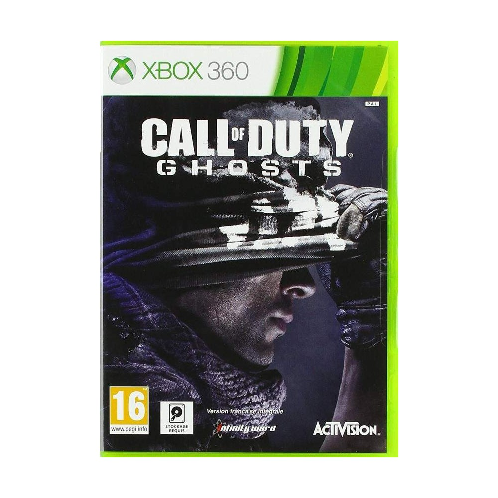 achat call of duty ghosts xbox 360 pal fr occasion jeu xbox 360 77561 trader games. Black Bedroom Furniture Sets. Home Design Ideas