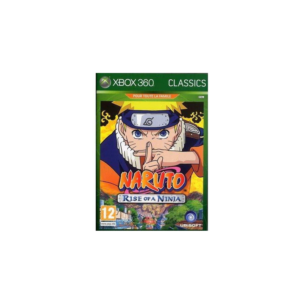 NARUTO : RISE OF A NINJA CLASSICS XBOX 360 PAL-FR OCCASION
