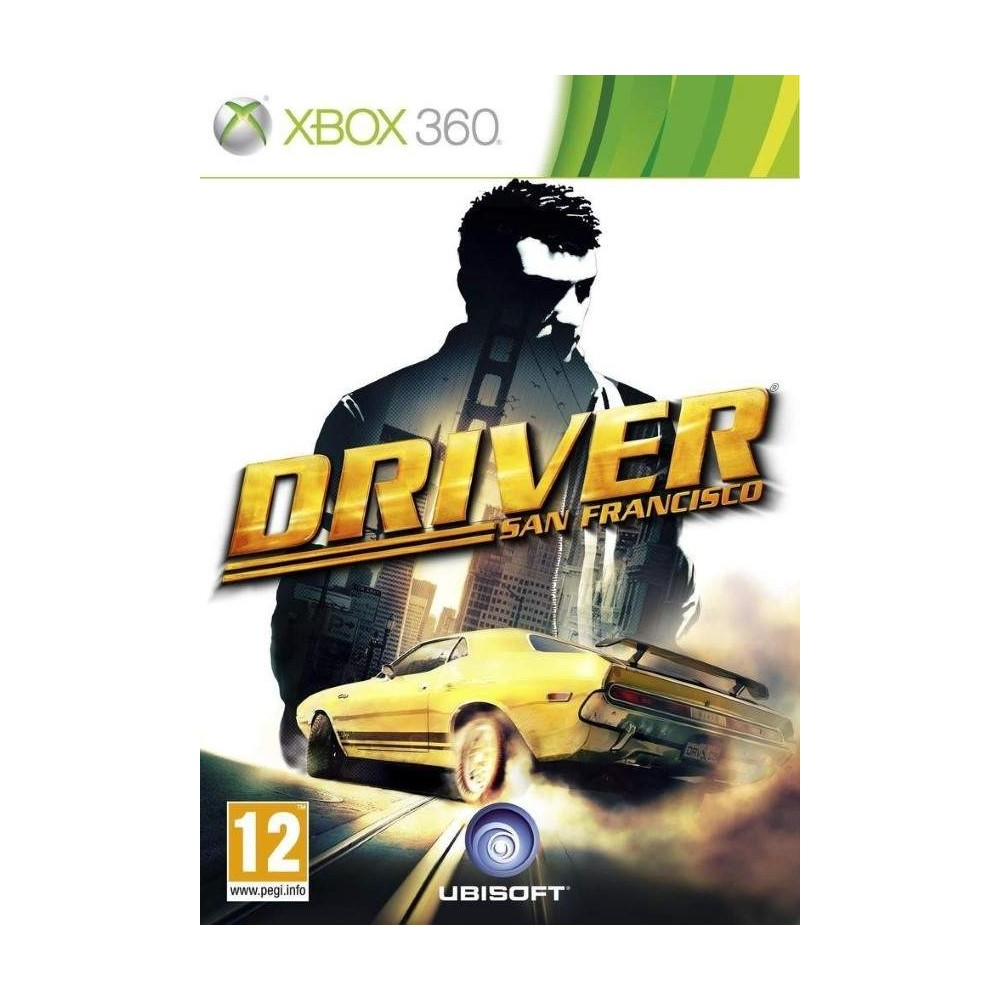 DRIVER SAN FRANCISCO XBOX 360 PAL-FR OCCASION