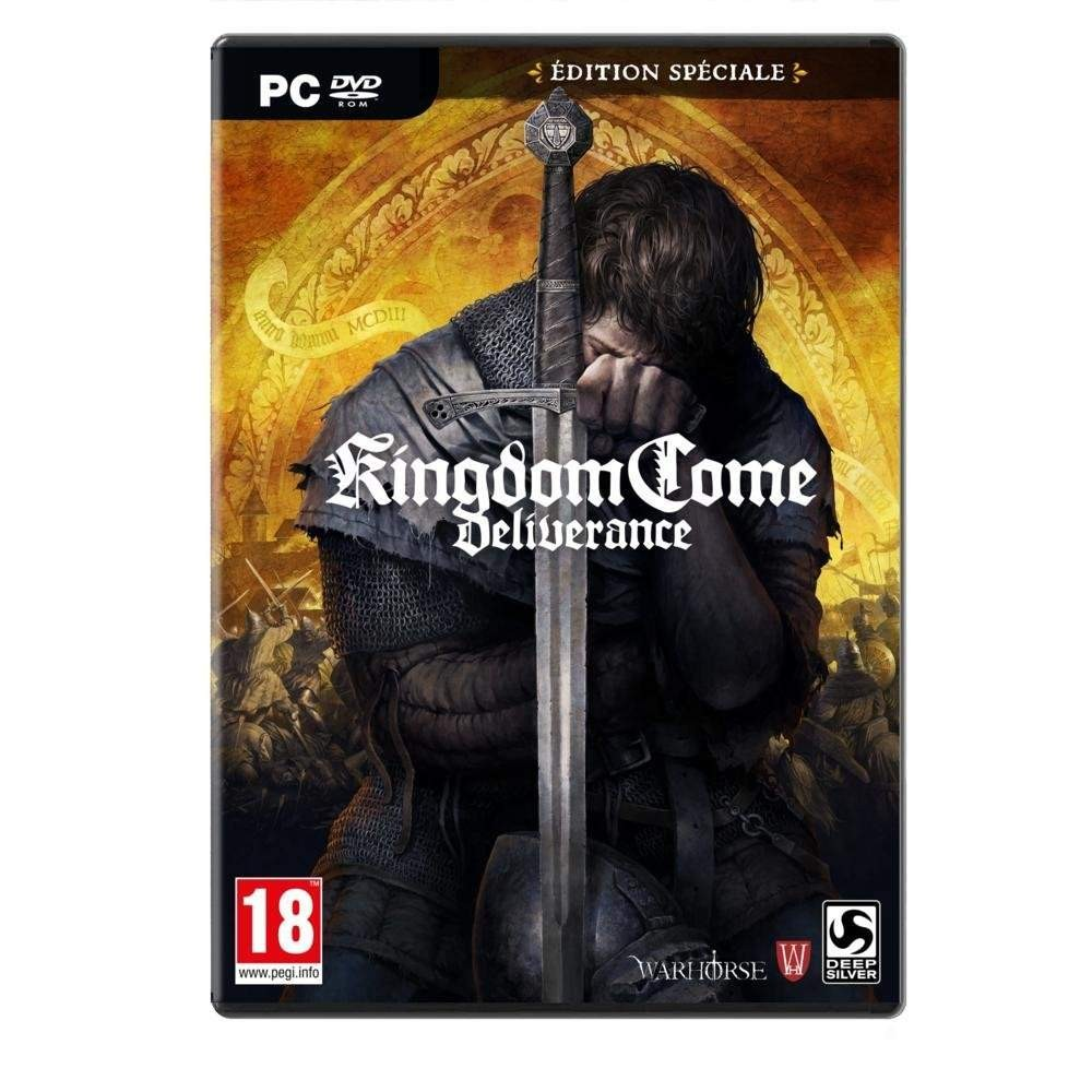 KINGDOM COME DELIVERANCE SPECIAL EDITION PC EURO FR NEW