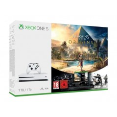 CONSOLE XBOX ONE S 1TO + ASSASSIN S CREED ORIGINS + RAINBOW SIX SIEGE EURO NEW