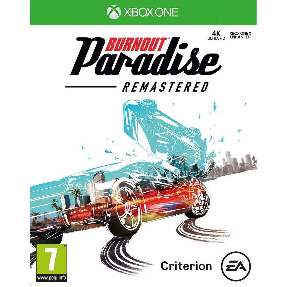 BURNOUT PARADISE REMASTERED XBOX ONE UK NEW