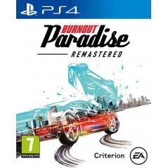 BURNOUT PARADISE REMASTERED PS4 UK NEW