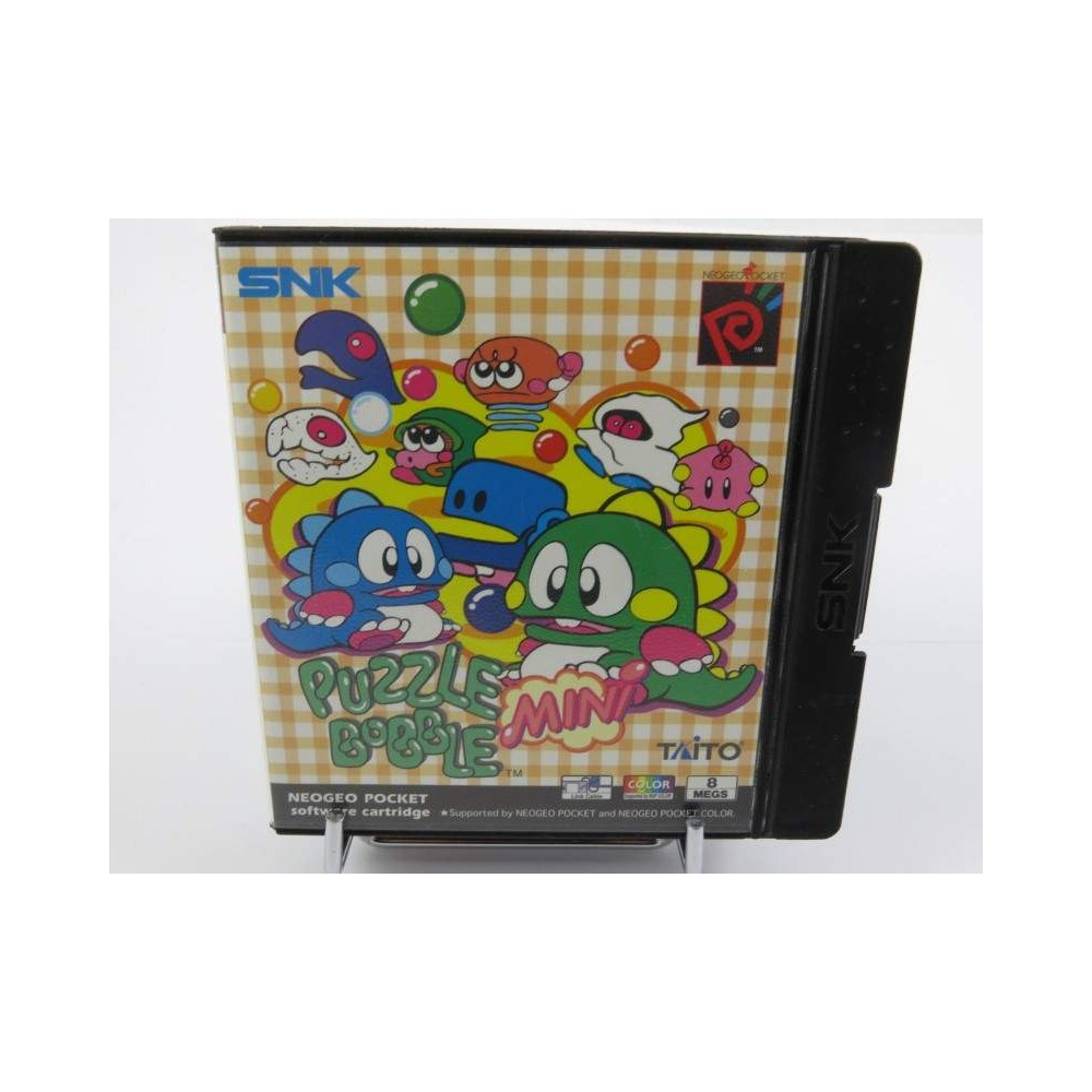 PUZZLE BOBBLE MINI NEO GEO POCKET NEO GEO POCKET EURO OCCASION