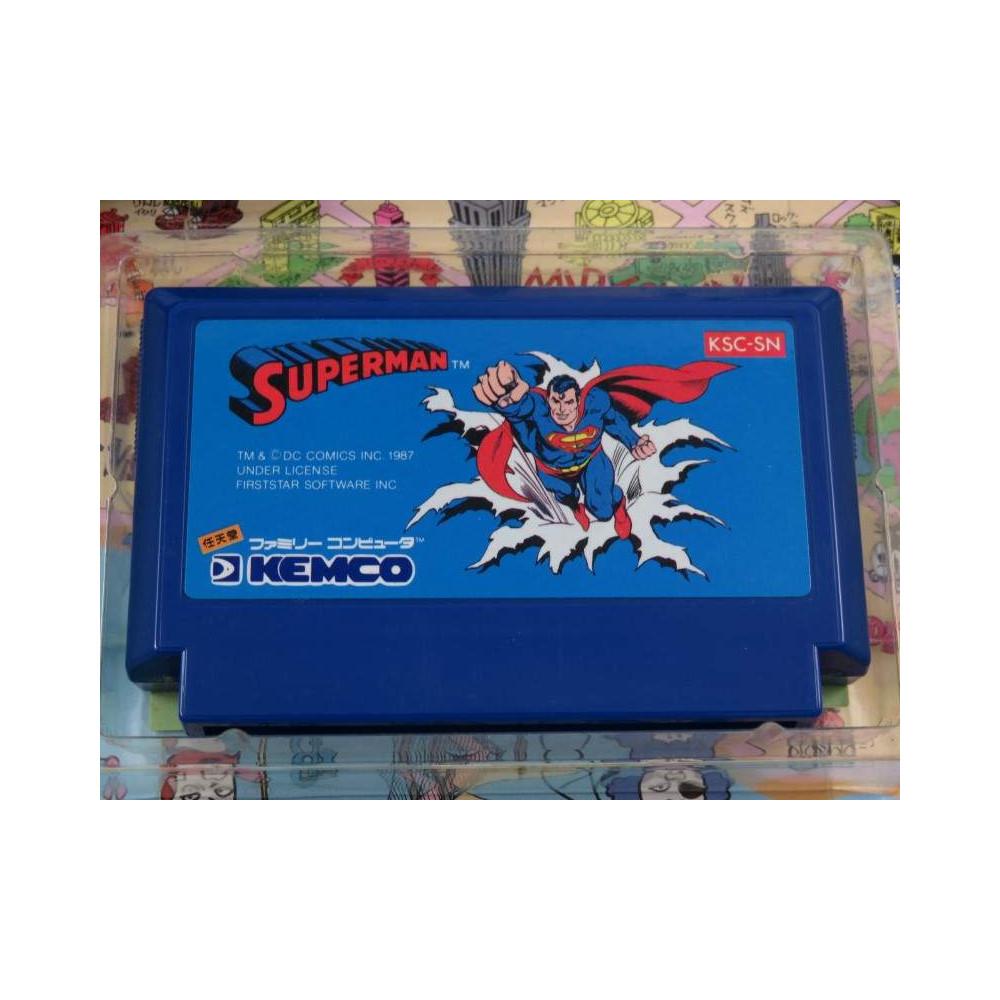 SUPERMAN FAMICOM NTSC-JPN OCCASION
