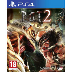 ATTACK ON TITAN 2 PS4 FR NEW