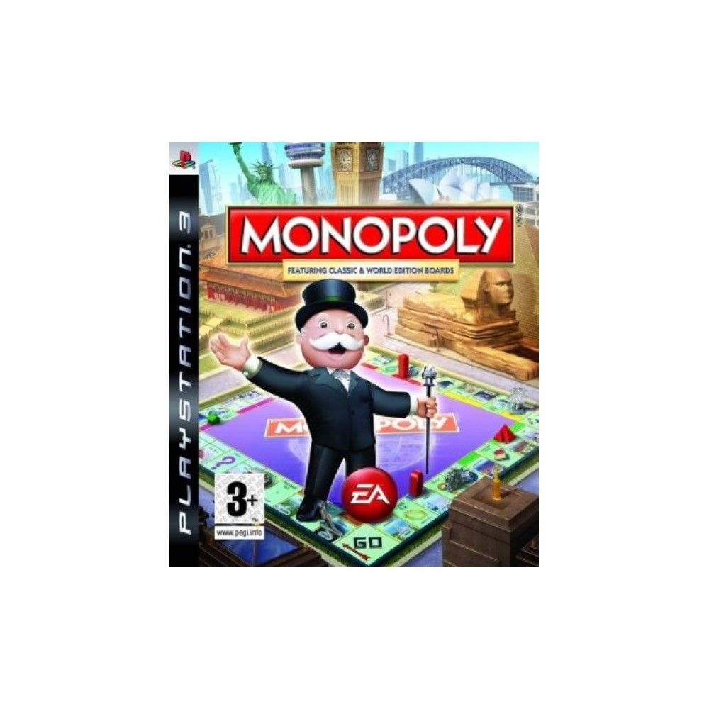 MONOPOLY FEATURING CLASSIC & WORLD EDITION BORDS UK NEW