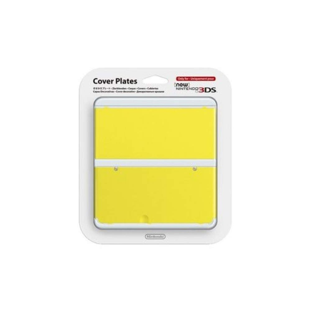 COVER PLATES NO.009 NEW 3DS YELLOW NEW