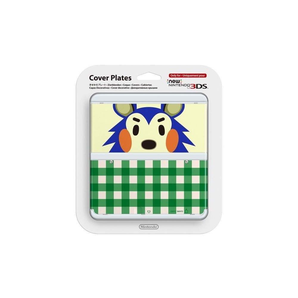 COVER PLATES NO.015 NEW 3DS ANIMAL CROSSING KINUYO JAP NEW
