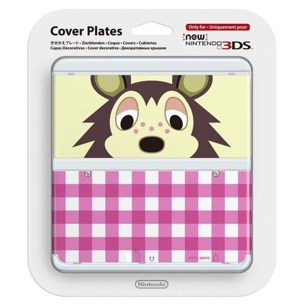 COVER PLATES NO.016 NEW 3DS ANIMAL CROSSING ASAMI JAP NEW