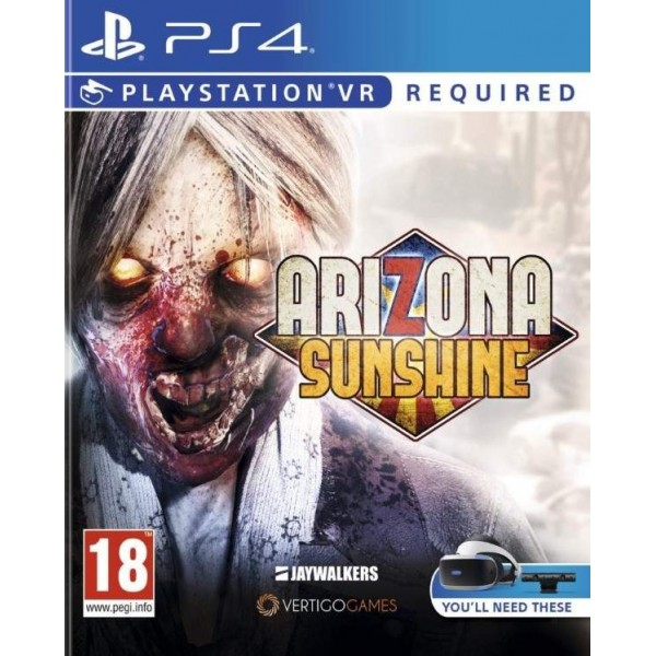 ARIZONA SUNSHINE PS4 UK NEW