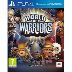 WORLD OF WARRIORS PS4 UK NEW