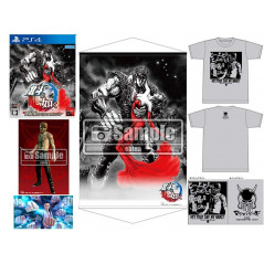 HOKUTO GA GOTOKU PREMIUM EDITION EBTEN LIMITED DX PACK + TSHIRT L PS4 JAP NEW